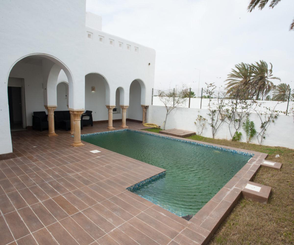 villa piscine djerba